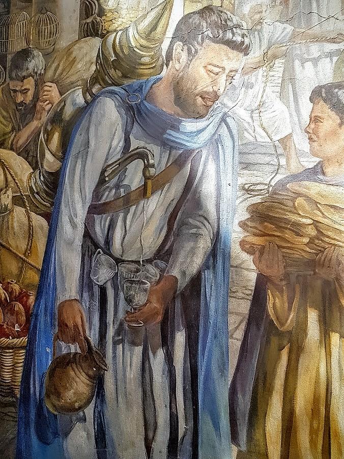 תמונת קיר בירושלים - הצעת נישואין בכותל